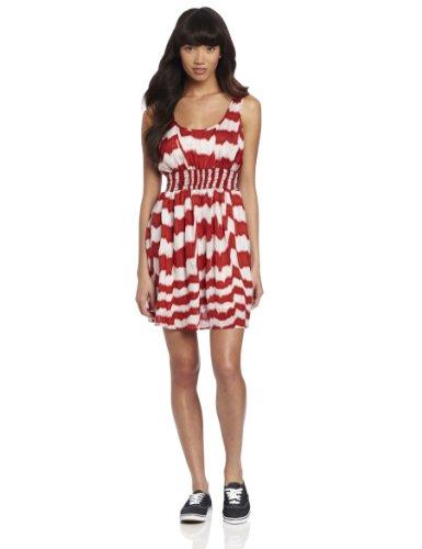 BB Dakota-Delilah-Vestito da donna, colore: rosso papavero Papavero  Small