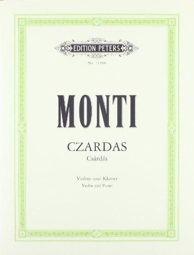 Czardas (Csárdás): für Violine und Klavier