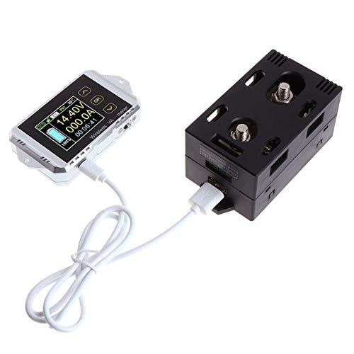 Multifunktions-Test-Meter, LCD-Anzeige Wireless Coulometer Power Electrombile Auto Multi Schutz Temperatur Benutzerfreundliche Batteriekapazität(VAT-1050,wie gezeigt) -