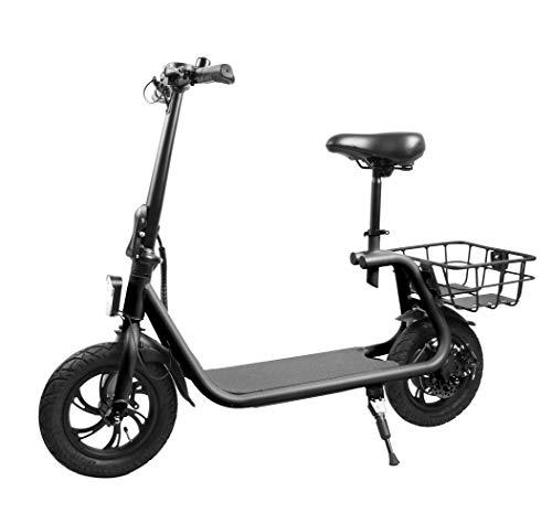 E-Scooter Power Seat 350W 8AH 30 km/h Leistungstarker Elektroroller E-Roller Elektro Roller E Tretroller