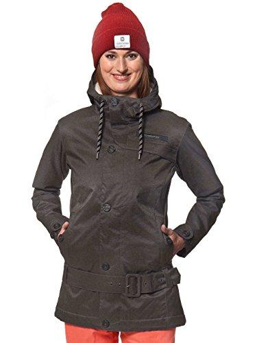 Horsefeathers tRINITY veste de ski pour femme Gris - anthrazit