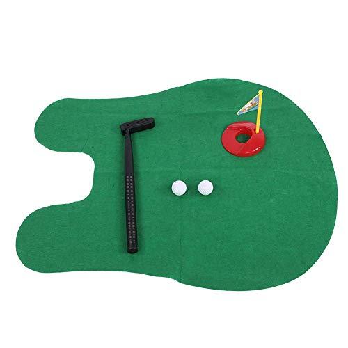Drfeify Jeux de Mini Golf, Mini-Golf pour Le Temps des Toilettes dans la Salle de Bains pour Adultes et Enfants