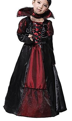 GIFT TOWER Costume Halloween Enfant Fille Vampire Déguisement Fantaisie Soirée