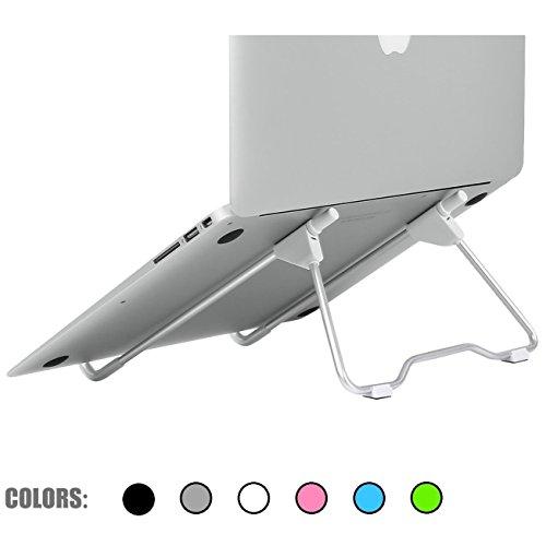 G-Hawk® Portátil Ordenador Portátil Estar Plegable y Ajustable Ergonómico Soporte para Portátil Universal para el Ordenador Portátil del Escritorio/el Cuaderno/el iPad