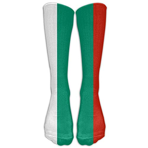 Men's & Women's Sock Bulgarian Flag Stylish Athletic Socks,One Pair Smartwool Striped Hat