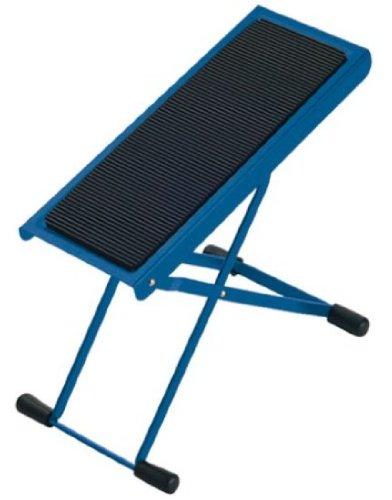 K&M 14670 Gitarrenfußbank blau