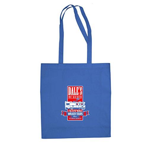 Dale's Walker Tours - Stofftasche / Beutel Blau