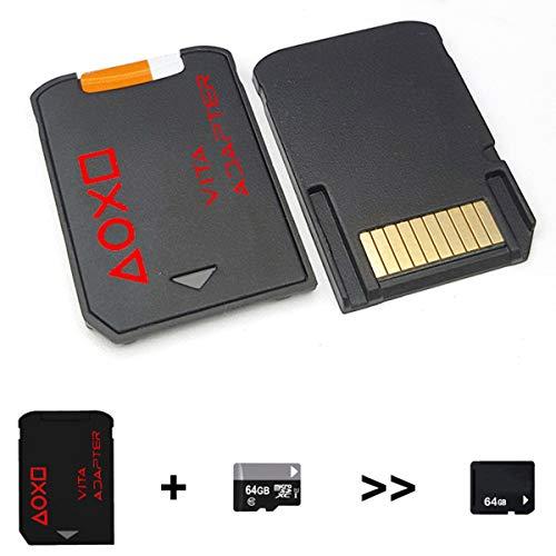 Price comparison product image Nosii SD2Vita 3.0 Micro SD Memory Card Adapter for PS Vita Henkaku 3.60 System