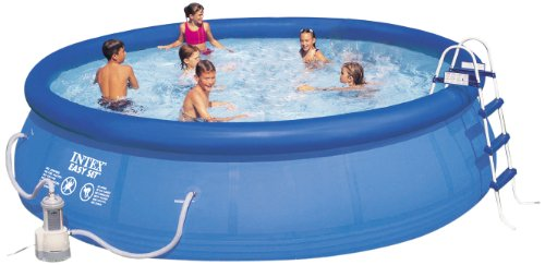 Intex 56409GS - Easy-Set-Pool circa 457 x 107 cm mit Pumpe