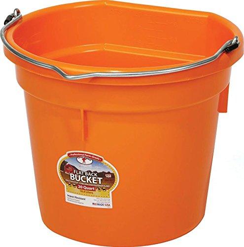 miller-manufacturing-pail-flat-back-bucket-heavy-duty-wire-bail-orange-20qt