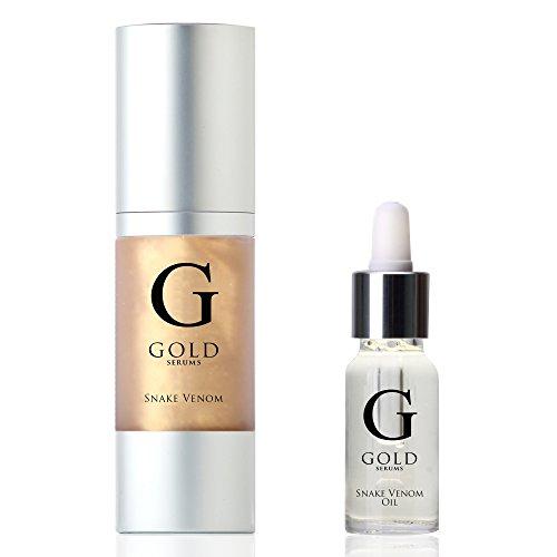 Gold Serums, Siero + Olio al veleno di vipera