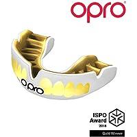 Opro Power-Fit Brillante - Denti - Bianco/Oro