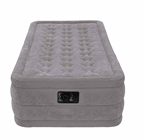 Intex Ultra Plush Airbed with Built In Electric Pump (67952)