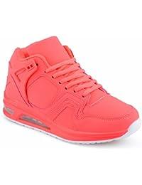 Herren Damen Sportschuhe High Top Sneaker Mehrfarbig Basketball Freizeit Unisex Schuhe