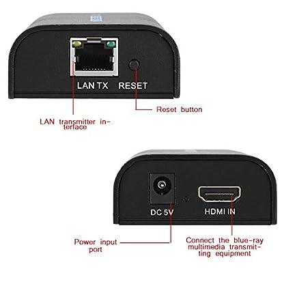 Tonysa-120M-HDMI-SignalverstrkerEmpfnger-AdapterSingle-Network-Line-Extender-SenderNetwork-Extender