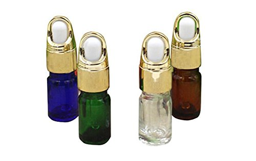 as Dropper Flaschen mit GLAS Pipetten/Make-up kosmetische Beispiel Behälter Flasche für Öl Aromatherapie Gebrauch ()