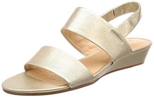 Clarks Sense Lily Womens Slingback Sandals 8 D (m) UK/42 EU Champagner -