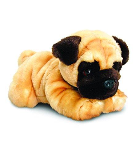 Keel Toys Pug - Cagnolino di Peluche, 30 cm
