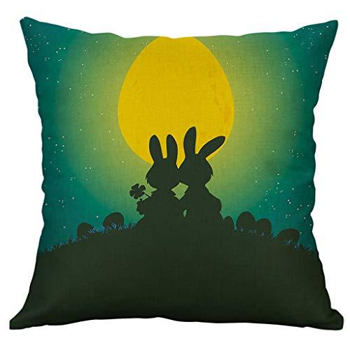 Kissenhülle Dekokissen Throw Pillow Covers Bettwäsche Für Autos Sofakissen Glücklich Herbst Thanksgiving Day Leinen Kissenbezug Home Decor ()