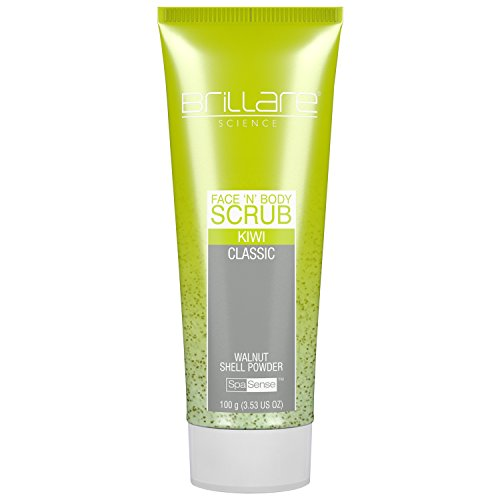 Brillare Science Face & Body Scrub Kiwi, 100gm