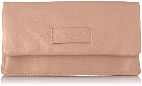 Belle Rose Geldbörse (Liebeskind Berlin Damen Essential Slam Wallet Large Geldbörse, Pink (Dusty Rose), 2x10x19 cm)
