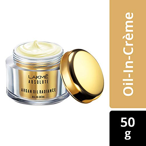 Lakme Absolute Argan Oil Radiance Oil-in-Creme, 50g