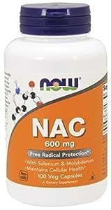 Nac - 100 gelules vegetales - Now foods