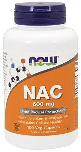 NAC - 100 capsule vegetali - Now Foods, alimenti - 41XeiXHSLIL