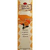 Turrón Blanco Cubierto Con Sabor A Naranja - 100g - Duca Moscati