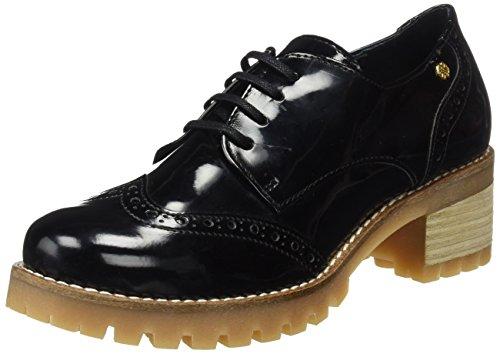 CUPLÉ 103088 Atros16525, Zapatos de Cordones Oxford para Mujer, Negro (Black), 39 EU