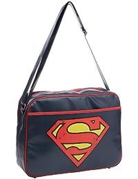 Logoshirt Superman-Logo, Umhängetasche Unisex für Erwachsene