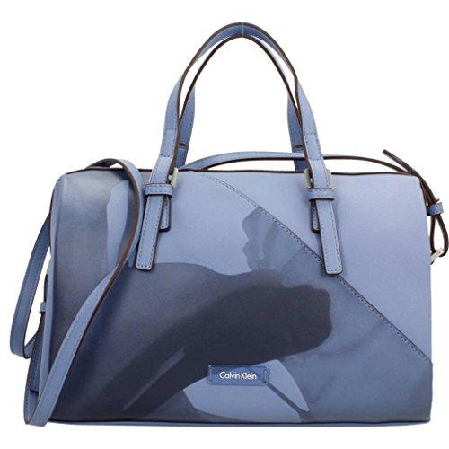 Gli amanti dello shopping e Womens borse a tracolla, colore Blu , marca CALVIN KLEIN, modello Gli Amanti Dello Shopping E Womens Borse A Tracolla CALVIN KLEIN K60K602470 Blu Blu