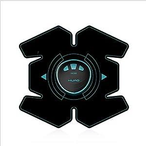 FMKYQ Elektrischer Stimulator, EMS-Muskel Toner, Ab-Stimulator, Fitness-Workout Und Home-Fitness-Body-Taille Muskelstimulation Fitnessgeräte