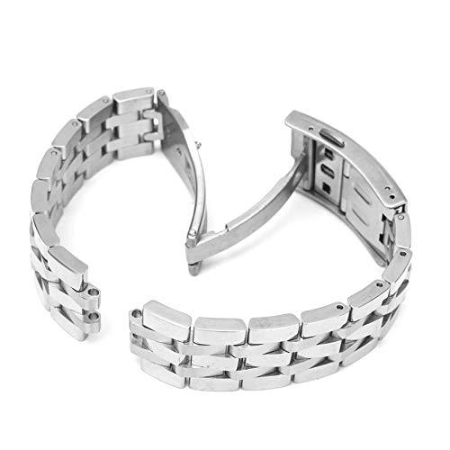 ROUHO 19Mm Ersatz-Edelstahl-Uhrenband Für Tissot Prc200 T17 T461 T014 T41