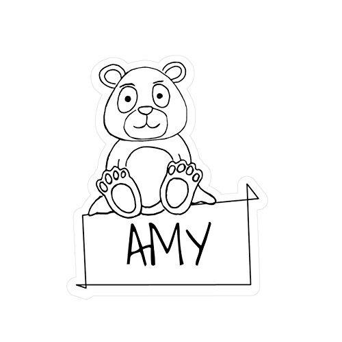 JOllipets Baby Kinder Aufkleber - Amy - Variante: Tiere Zoo - Farbe: Design: Bär - Amys Bären