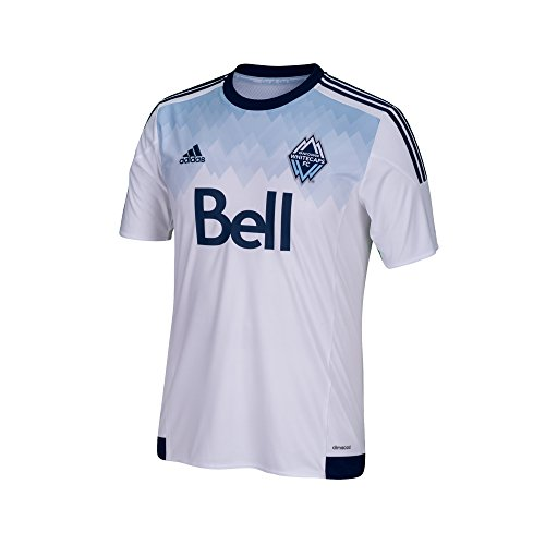 adidas MLS Vancouver Whitecaps Boys Youth Replica Short Sleeve Jersey df8cbd21bcb1f