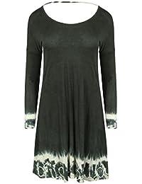 Religion - Robe - Trapèze - Manches Longues - Femme vert Quiksilver