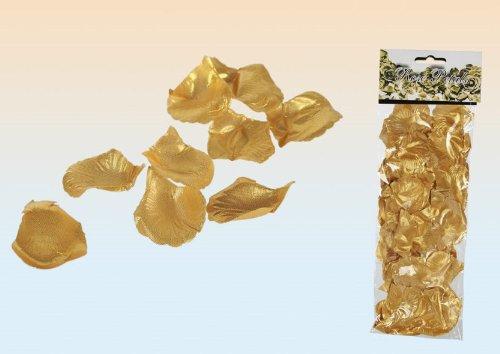 100 goldene Rosenblätter GOLD Rose Blätter Streublätter