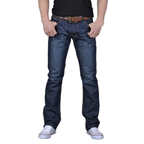 Hommes Casual Automne Denim Coton Hip Hop Lâche Travail Long Pantalon Jeans Pantalon Malloom