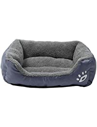 cama mascotas perros rectángulo Sannysis mascotas gatos perros accesorios  deportiva perros cama de perrito almohadilla caliente a0c4324eeaa