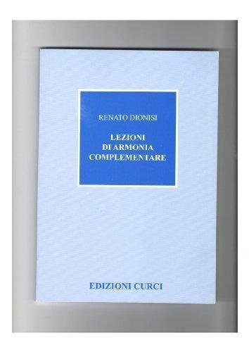 LEZIONI DI ARMONIA COMPLEMENTARE