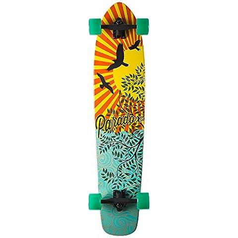 Paradox Longboard- Cruiser - Freeride monopatín skateboard,talla 42