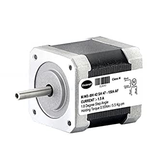 Bholanath Stepper Motor 5.5 kg cm BIPOLAR STEPPER MOTOR (1.5 Amp Motor) Fitted With Connector (Best Suited for 3 D Printers)