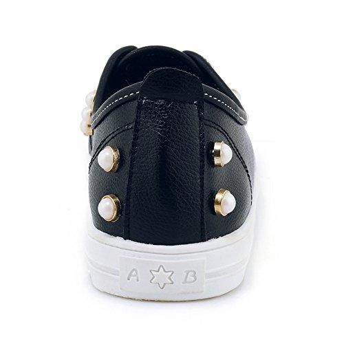 Femmes Vgfhzq Black Coolcept Chaussures Printemps Espadrilles XwTrxFOXq