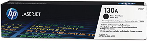 HP 130A Original Toner (geeignet für HP Color Laserjet Pro M176n, HP Color Laserjet Pro M177fw) schwarz