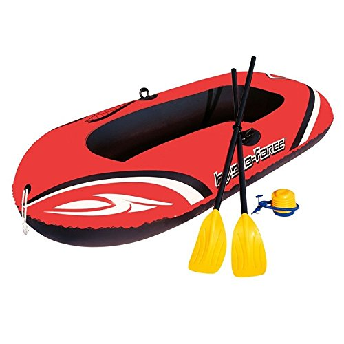 "Bestway ""Hydro-Force Raft Set Boot 188x98cm mit Blasebalg und 2 Rudern"