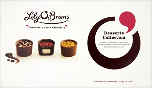 Lily O'Briens Desserts Collection (230g) - Packung mit 6 Lily Kaffee