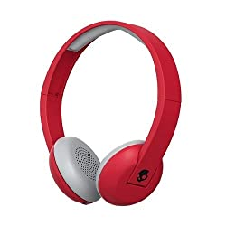 Skullcandy Uproar Wireless 2016 Bluetooth On-ear Headphoners Compatible With Smartphones, Tablets & Mp3 Devices - Redblack (Illfamed)