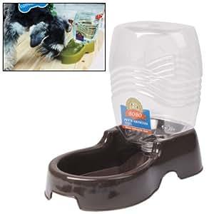 Pggpo utility automatique distributeur d 39 eau potable avec porte bouteille amovible de nourriture - Porte automatique pour chien ...