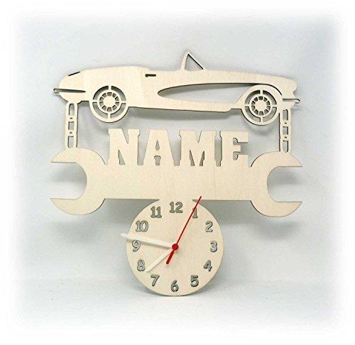 Auto Uhr mit Name...